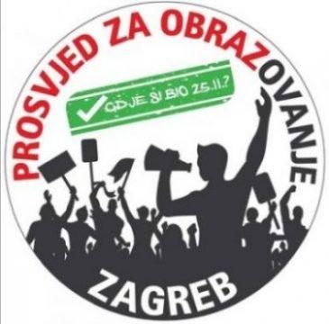 Podrška štrajku prosvjetnih radnika